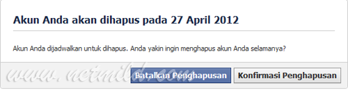 Akun DL FB 4 Cara Hapus Permanen Account Facebook