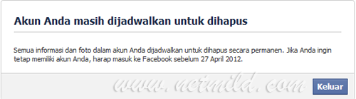 Akun DL FB 5 Cara Hapus Permanen Account Facebook